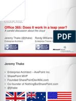 Office 365 Does It Work in a Leap Year