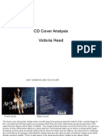 CD Cover Analysis