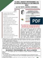 Tract DSGC Janvier 2012