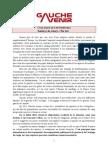 Texte invitation colloque Gauche Avenir sur la crise le 8 février 2012