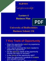 Week 4 Business Plan