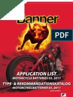Applikationslista_Motorcyklar_2011