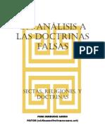 p. Abel Bermudez Garro - Sectas, Religiones y Doctrinas
