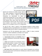 Inglês Divertido Com Genki English E TPR Na XOKenglish - Folheto com Informações Gerais