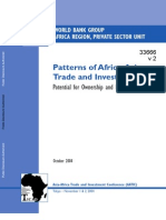 The World Bank Study on Africa Asia Trade and Investment Relations