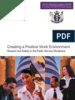 Creating a Positive Work Environment