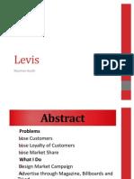Levis Ptomotional Campaign