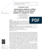 Compensation Policies