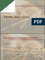 TEORÍA EDUCATIVA