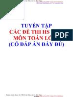 Tuyen Tap de Thi HSG Co Dap an Toan 6