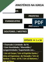 OS 5 MINISTÉRIOS