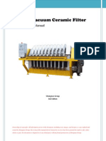 Ceramic Disc Filter - Manual - Instal at Ion Operation Maintenance
