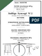 Dante Agostini - Solfege Rythmique 2