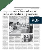 Proyecto de Educación Escolar