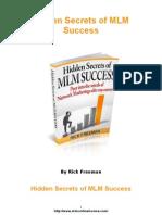Hidden Secrets of MLM Success