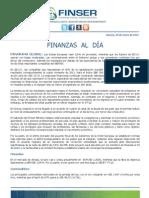 Finanzas al Día 20.01.12