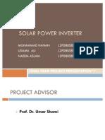 Solar Power Inverter (P-1)-Revised