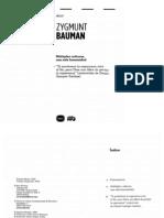 BAUMAN_Multiples Culturas Una Sola Humanidad
