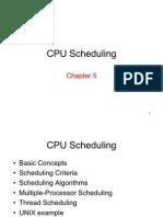 Ch (1)6cpu Scheduling
