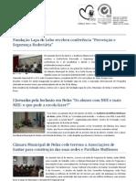 Agenda Municipio de Nelas 09 a 15 de Janeiro 2012