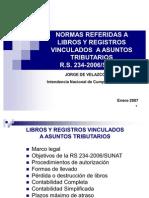 Libros y Registros Presentacion COMEX 070202 RS-234-2006 SUNAT