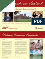 Prospekt - Schulbesuch im Ausland