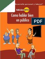 COMO HABLAR BIEN en PUBLICO Medicomoderno.blogspot.com - Como Hablar Bien en Publico