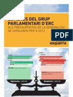 Tria d'Esmenes ERC PGcat 2012