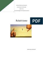 Sobre o Relativismo