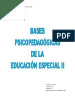 Bases Psicopedagógicas II