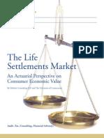 Actuary Uconn Deloitte Life Settlements