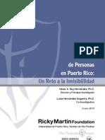 La Trata de Personas en Puerto Rico