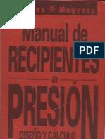 Manual de Recipientes a Presion Diseno y Calculo