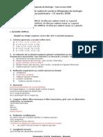 propuneredesubiectepentruolimpiadadebiologie
