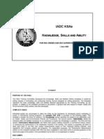 IADC Rig Crew Skills