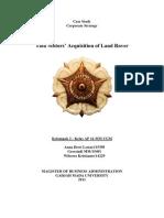 Paper CS Akuisisi Tata Motor Terhadap Land Rover