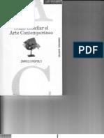 """Enrico Crispolti, Cómo estudiar el Arte Contemporáneo"""""""