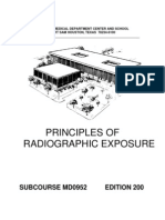 US Army Medical Course MD0952-200 - Principles of Radio Graphic Exposure