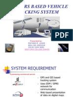 Gps - Gprs Based Vehicle Tracking System