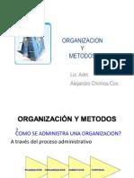 ORGANIZACION Y METODOS - 2011-2