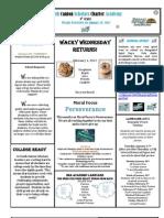 Newsletter 1-20-2012