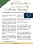 Voucher Safe Open Source Voucher Payment Project
