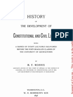 History of the Development of Constitutional and Civil Liberty