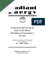 Moray Radiant Energy 1945