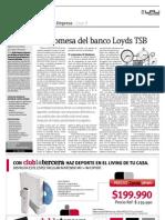 Caso 3 La promesa del banco Loyds TSB