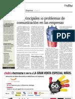 Caso 2 Los principales 10 problemas de comunicación en las empresas