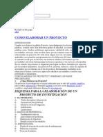 metodologia proyecto comunitario