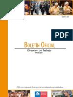 BOLETIN OFICIAL MARZO 2011