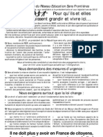 Adresse RESF Aux Citoyens Et Aux Candidats
