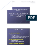 0.1 NOTE CURS Obiective Si Instrumente de Dezvoltare Regionala